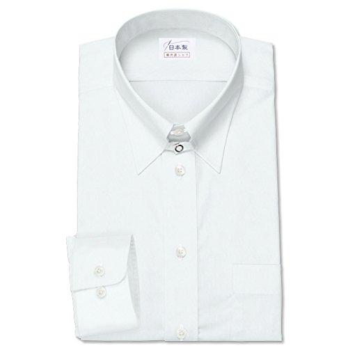 ワイシャツ 軽井沢シャツ [A10KZZT35] タブカラー 120番手双糸 ホワイトブロード ストレッチ らくらくオーダー受注生産商品 B011BIYR1W 首回り:37 裄丈:81|スリム型 スリム型 首回り:37 裄丈:81