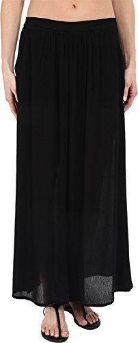 L*Space Women's Threads Pants Swim Cover Up Black M