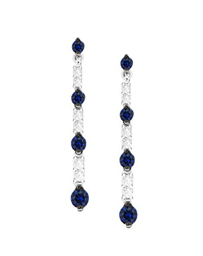 Salvini by Damiani Group femme  18carats (750/1000)  Or blanc|#Gold Rond   Noir Diamant FINEEARRING
