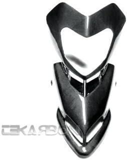 Carbon Fiber Heat Shield 1x1 plain s 2008-2012 Ducati Hypermotard 1100