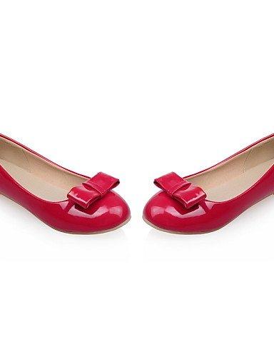 Cn35 casual de Talón Pdx Plano 5 Aire vestido Flats De blanco punta Redonda rojo Red Mujer us5 5 Eu36 Negro Comodidad al Boda Libre Zapatos Uk3 4rqFqdnZ