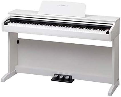 Medeli DP260 - Piano para mueble (88 notas), color blanco ...