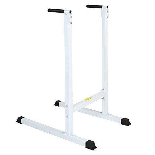 Dipstation Dip-Ständer belastbar bis 120 Kilogramm Muskelaufbautraining Kraftsportgerät