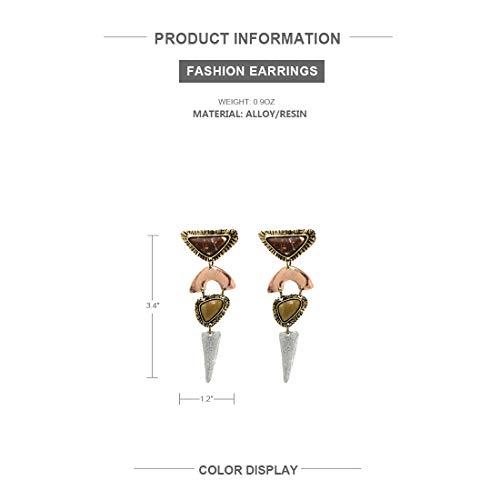 Limited Edition Irregular Bohemian Drop Dangle Earrings KELMALL COLLECTION