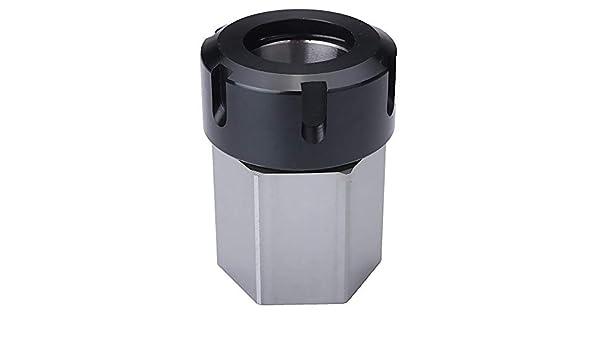 Portabrocas de acero duro hexagonal ER-32 CNC: Amazon.es: Hogar