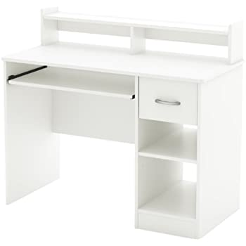 Amazon Com Legare 34 Inch Kids Desk Purple And White