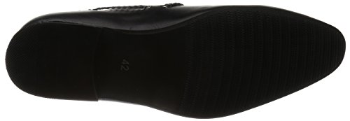 AN Mens Driving Shoes Casual Shoes Opera Loafer Suede Feel Slip on BLKST 45 EU (US Mens 11 M) sy1f5eLkHS