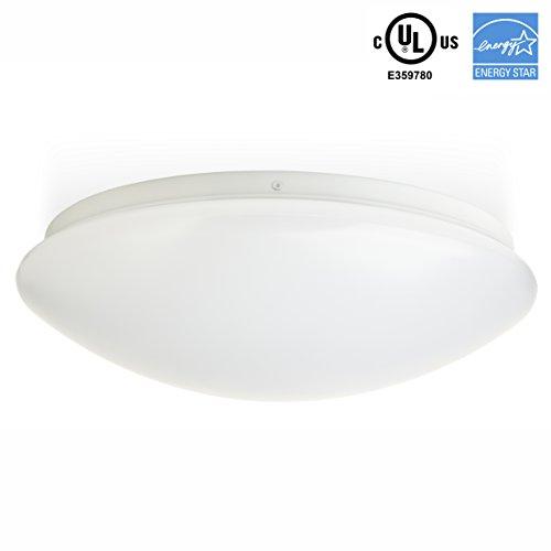 Contemporary Overhead Flush Lighting (Hyperikon LED Flush Mount Ceiling Light, 16