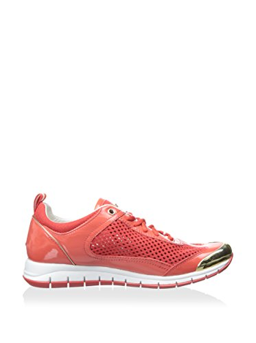 Geox D Contact M, Women's Low Red