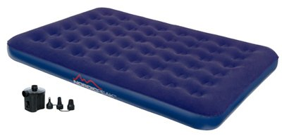 Nordic Peak Perfect Rest Deluxe Airbed with Pump – Queen Size, Outdoor Stuffs