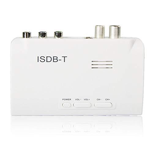 Pukido ISDB-T Digital Terrestrial Receiver HD Monitor Video Converter TV Set Top Box HU - (Plug Type: EU)