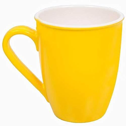 Milton Melamine Brew Mug- Set of 2 (Yellow)