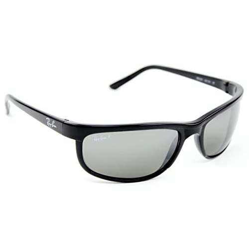 7a8ab7045f durable service Ray-Ban RB2027 601 W1 PREDATOR 2 Sunglasses Black  Crystal  Polarized