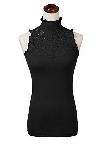 Black Lace Neck - 7