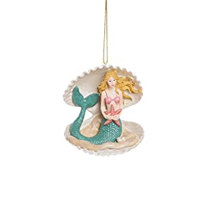 31Ksd9tEMkL._SS300_ 100+ Mermaid Christmas Ornaments