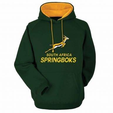 South Africa Springboks Rugby Hoodie (Adults) (Springboks Rugby Africa South)