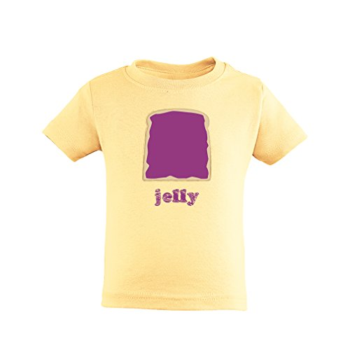Cute Twins or Halloween Toddler Kids Cotton Tee Jelly (Goes With Peanut Butter)