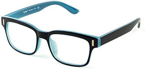 نظارة مضادة للأشعة والتعب للكمبيوتر والقراءة مع علبة