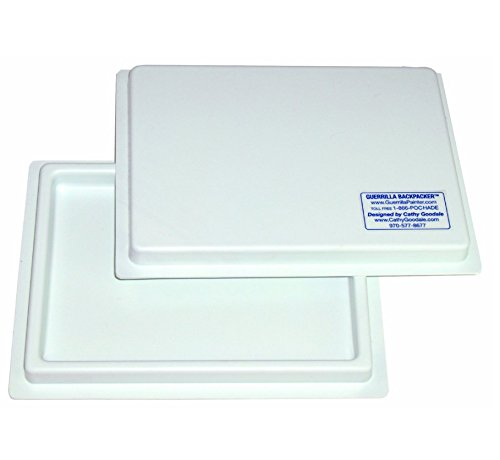 Guerrilla Painter Backpacker 6 by 8 Covered Palette Tray ()