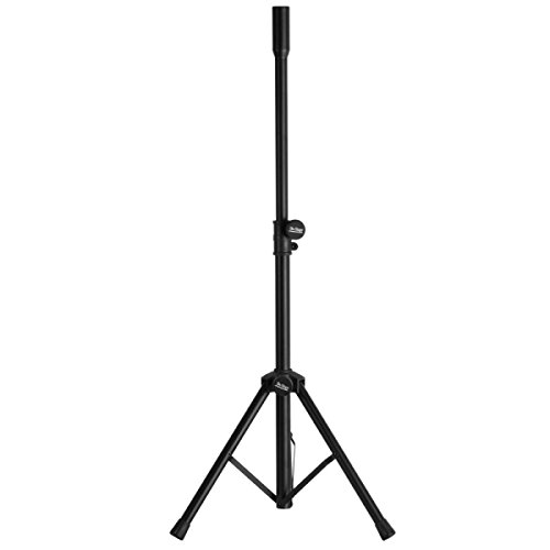 S1090 Adjustable Tripod Speaker Stand - Measures: 28 to 49'' (71.12 to 124.46cm) by Amplivox