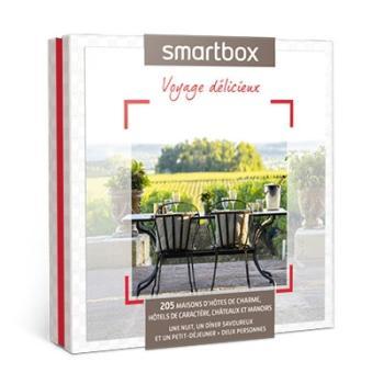 smartbox coffret cadeau voyage d licieux hygi ne et soins du corps. Black Bedroom Furniture Sets. Home Design Ideas