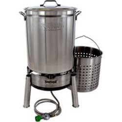 Bayou Classic KDS-160 Stainless 62qt (Boiler Kit)