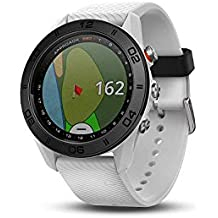 Garmin Approach S60 Touchscreen GPS-Enabled Golf Watch with Preloaded Course Maps & Sleep Monitoring(Renewed)