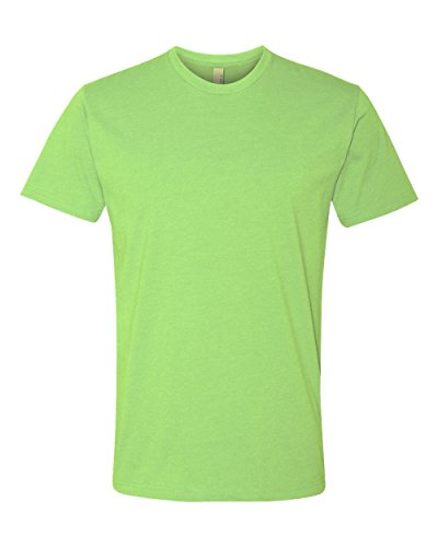 Next Level Apparel N6210 Mens Premium CVC Crew - Apple Green, Large