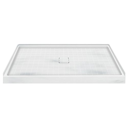 Solid Surface Shower Base - Transolid F6036-11 60