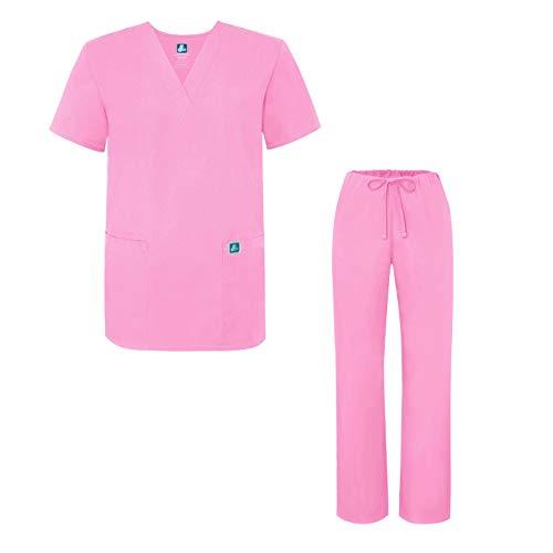 Adar Universal Medical Scrubs Set Medical Uniforms - Unisex Fit - 701 - SBT - XL -