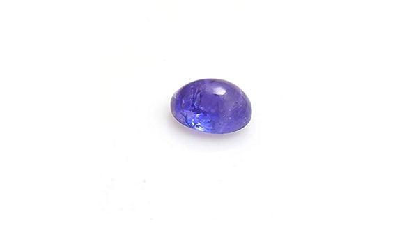 Tanzanite Cabochon.Natural Oval Tanzanite Smooth Cabochon.Tanzanite D Block AAA Quality Smooth Cabs Loose Gemstone,16x11x6 MM,10.5 Cts