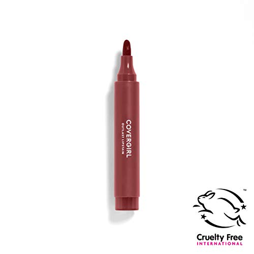 COVERGIRL Lipstain Saucy Plum 450, .09 oz (packaging may vary)