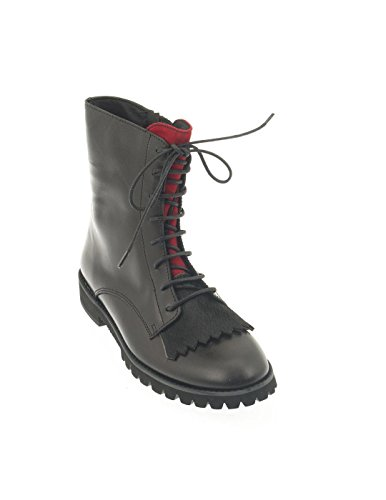 ELI BLACK LEATHER BOOT 5235R Schwarz