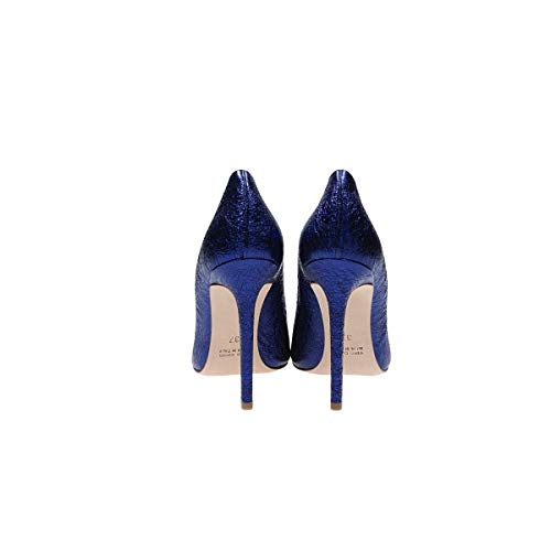 Marc Mujer Altos Azul Ma1001c Ellis Zapatos Cuero CCzr15a