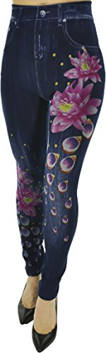 Hand Womens Leggings Printed Stretch product image