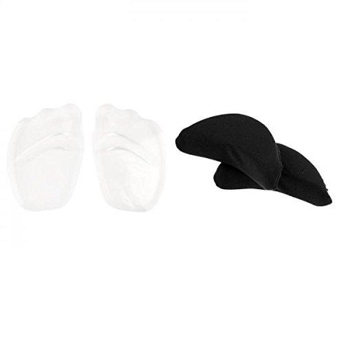 Baoblaze 1 Par Almohadillas para Zapatos Parte Delantera Gel con 2x Esponja Punta de Pies Sin Daños