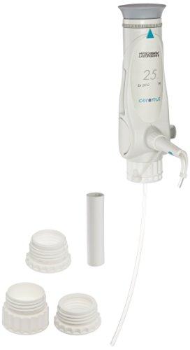 Hirschmann Ceramus 9352100 Bottle Top Dispenser with Ceramic Piston and Recirculating system, 25ml Fixed Volume