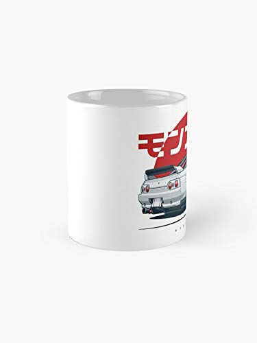 Monster. Skyline R32 Mug - 11oz - The most meaningful gift for family and friends. -