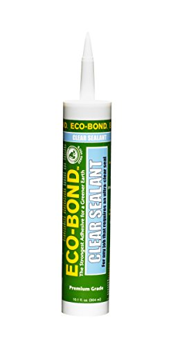 Eco-Bond CLR 125 Ultra Clear Primer-less Sealant, 10.1 (Ultra Polymer Sealant)