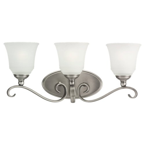 Sea Gull Lighting 49382BLE-965 3 Light Energy Star Bathroom Bar Light (965 Parkview 3 Light)