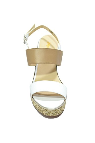 Sandalias De Cuña Blanca Melluso Zapatos Mujer R7904
