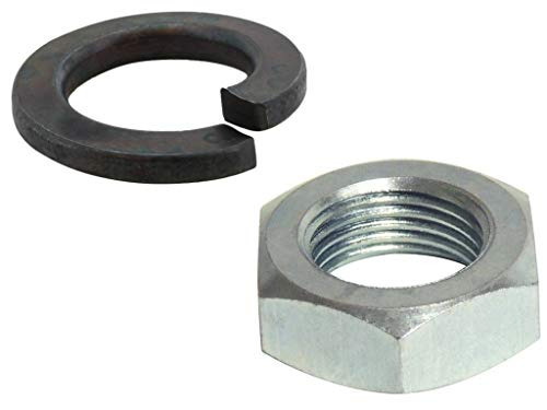 Pitman Arm Replace - Jeep Pitman Arm Install Kit Includes Nut and Lock Washer - replace rusted parts