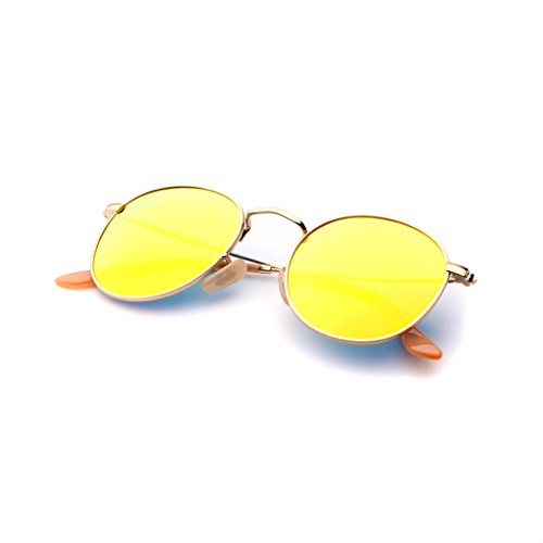 sol Anti Resistance Gafas Unidos Los UV400 High Color Europe Metal de definition Polarized Glasses Ladies Plata UV La Antideslumbrante Impact Estados Moda Oro WLHW qHdwEH