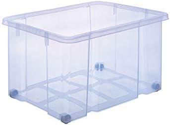 ARTECSIS Cajas de plástico XL, 59 x 39 x 32 cm, sin Tapa, Euro ...
