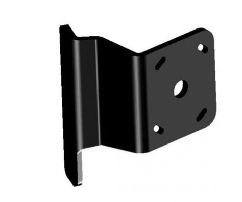 (Power Pole Plate Kit S-2-2 Starboard Black)