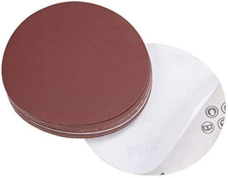 - 5 inch PSA sanding disc, aluminum oxide adhesive, back sandpaper, 800 grit, 20 pieces