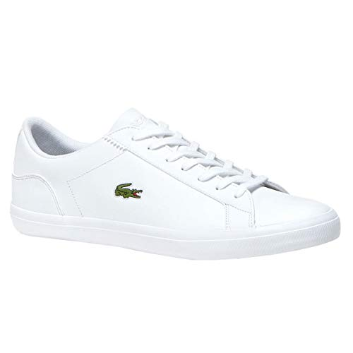 Lacoste Men's Lerond BL 1-1 Fashion Sneaker, White, 11 M - Sneakers Mens Lacoste