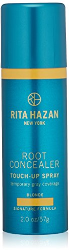 Root Concealer-Rita Hazan Touch Up Spray-Light Blonde-Cover Up Gray 2 Oz