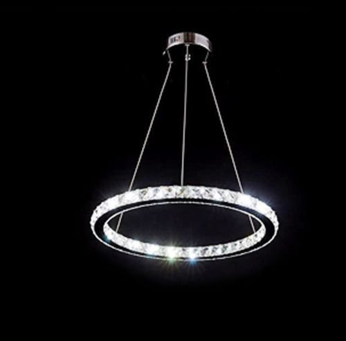 Les yobo lighting contemporary crystals chandelier island ceiling les yobo lighting contemporary crystals chandelier island ceiling pendant light living room d400mm ring led aloadofball Gallery