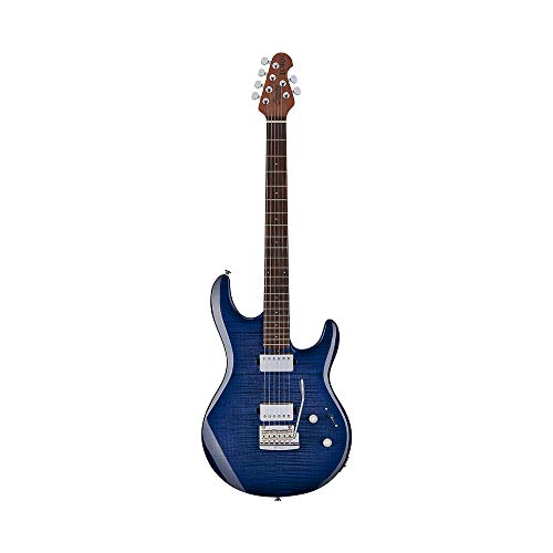 Sterling By MusicMan 6 String Solid-Body Electric Guitar, Right, Blueberry Burst (LK100-BLB)